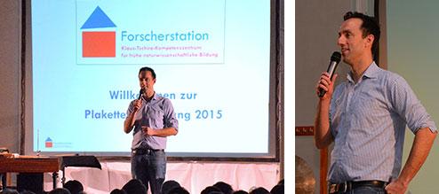 Gala der Forscherstation in Schwetzingen vor 400 Erziehern und Grundschullehrern