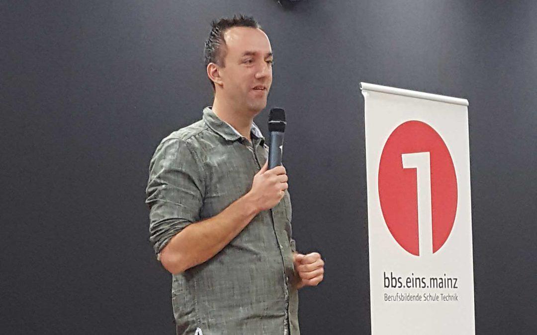 Matthias Jung Berufsschule Mainz 2018