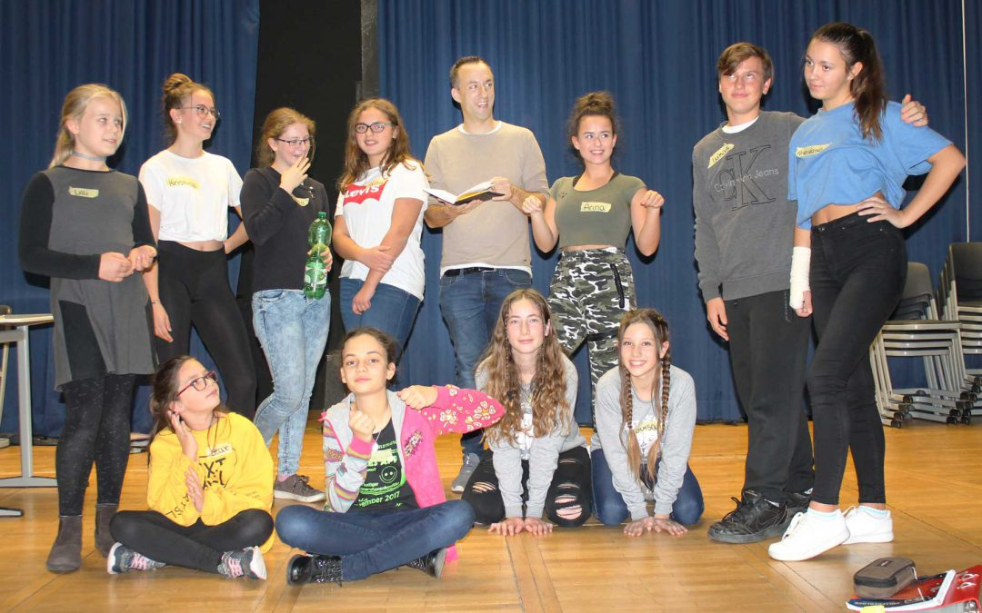 Theater Work Shop in der Schule