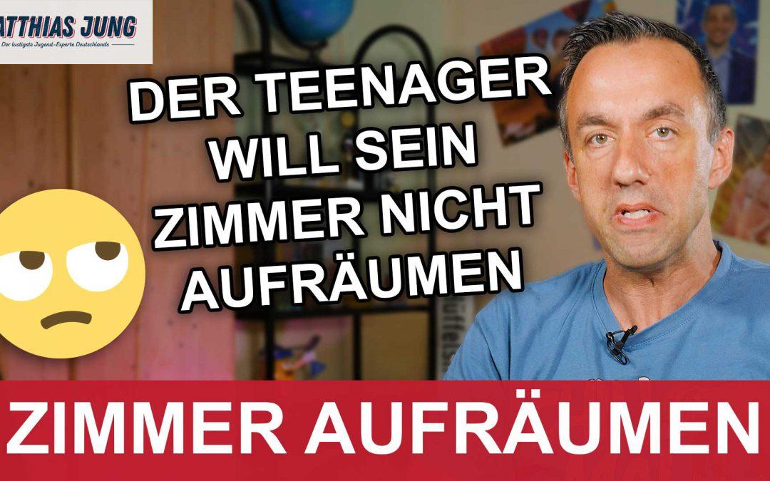 Teenager will nicht sein Zimmer aufräumen - Matthias Jung