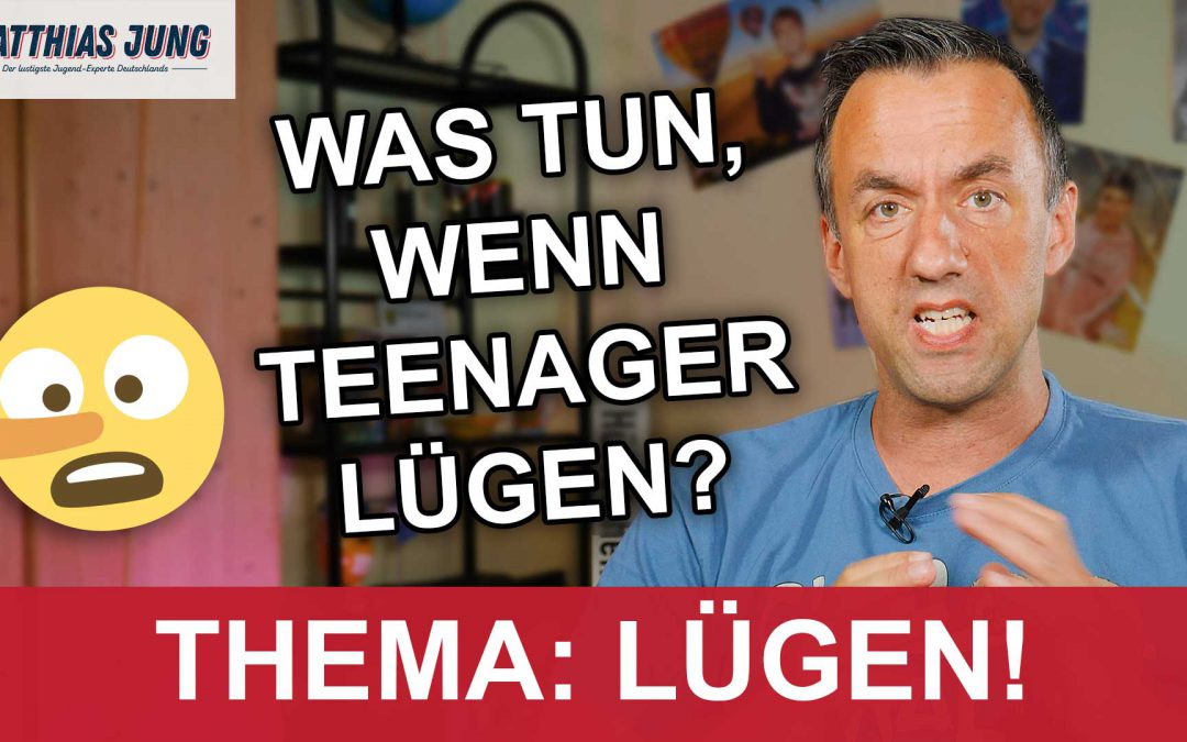 Teenager lügen