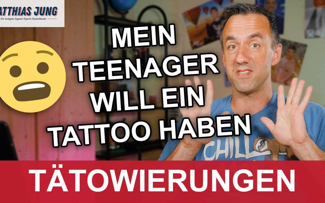 Hilfe, mein Teenager will ein Tattoo haben